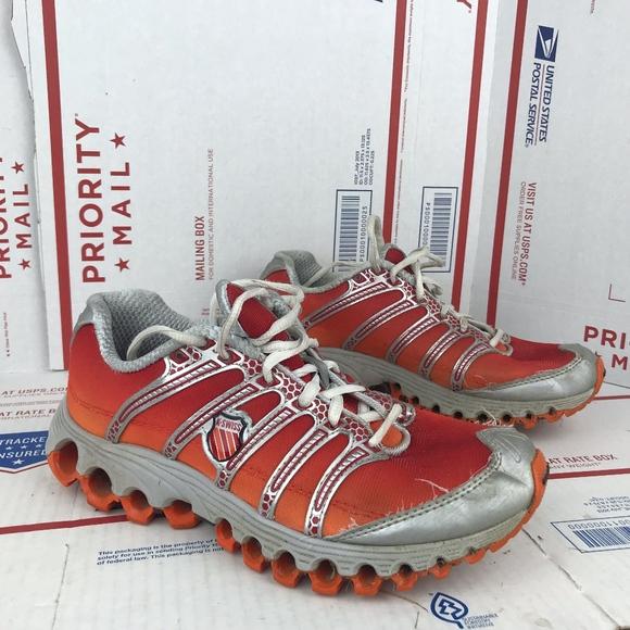 K Swiss Womens Orange Running Shoe